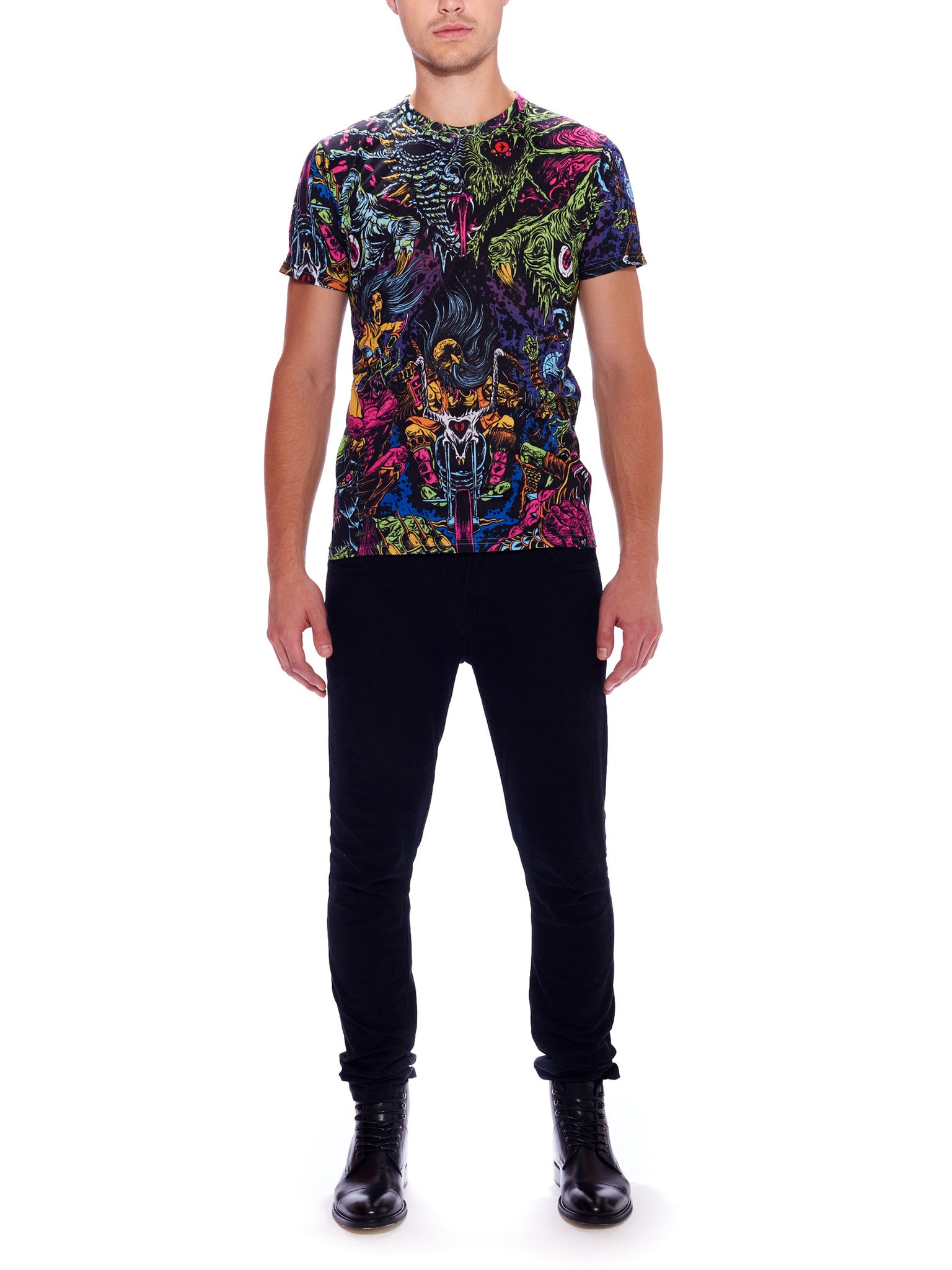 Space Biker Men's Classic T-Shirt