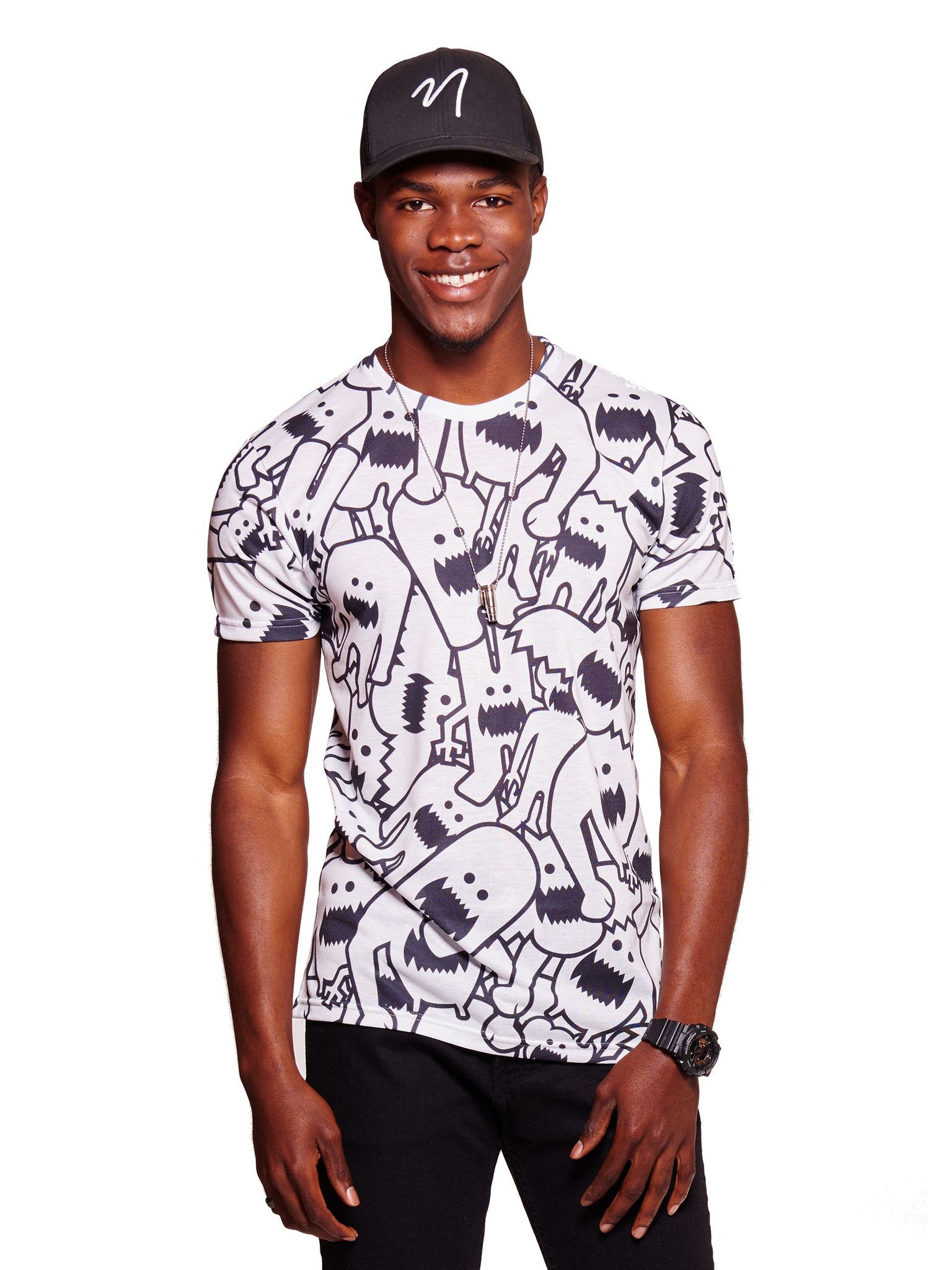 Monster Collage Men's Classic T-Shirt - Nuvango  - 1