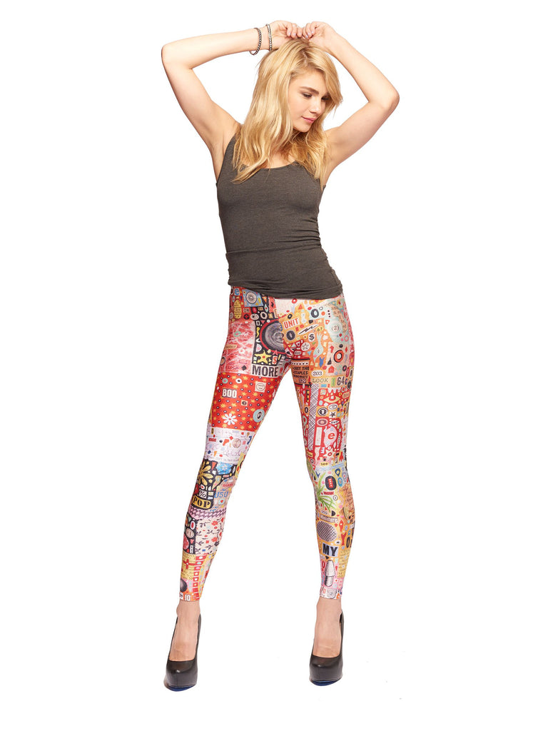My Pop Queen West Leggings - Nuvango  - 1