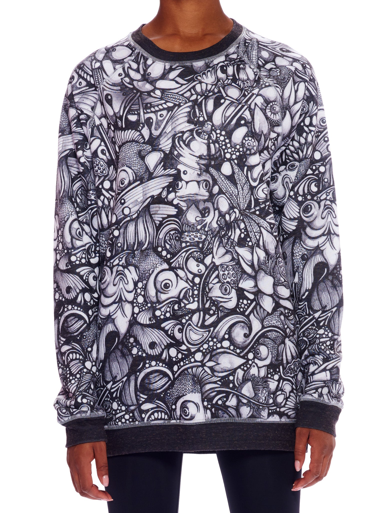 Ink Pond Crewneck Sweater