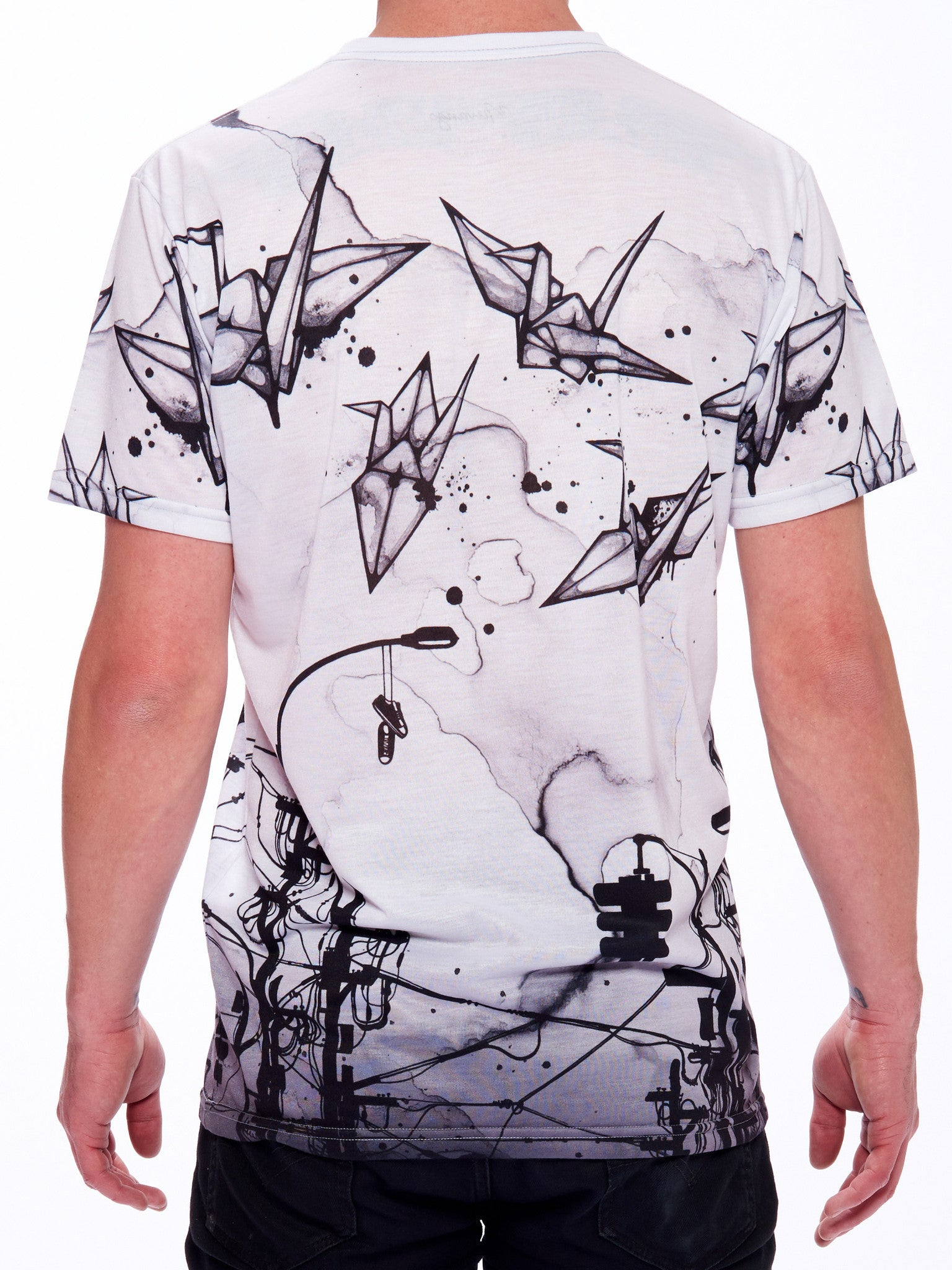 Cable Cranes Men's Classic T-Shirt