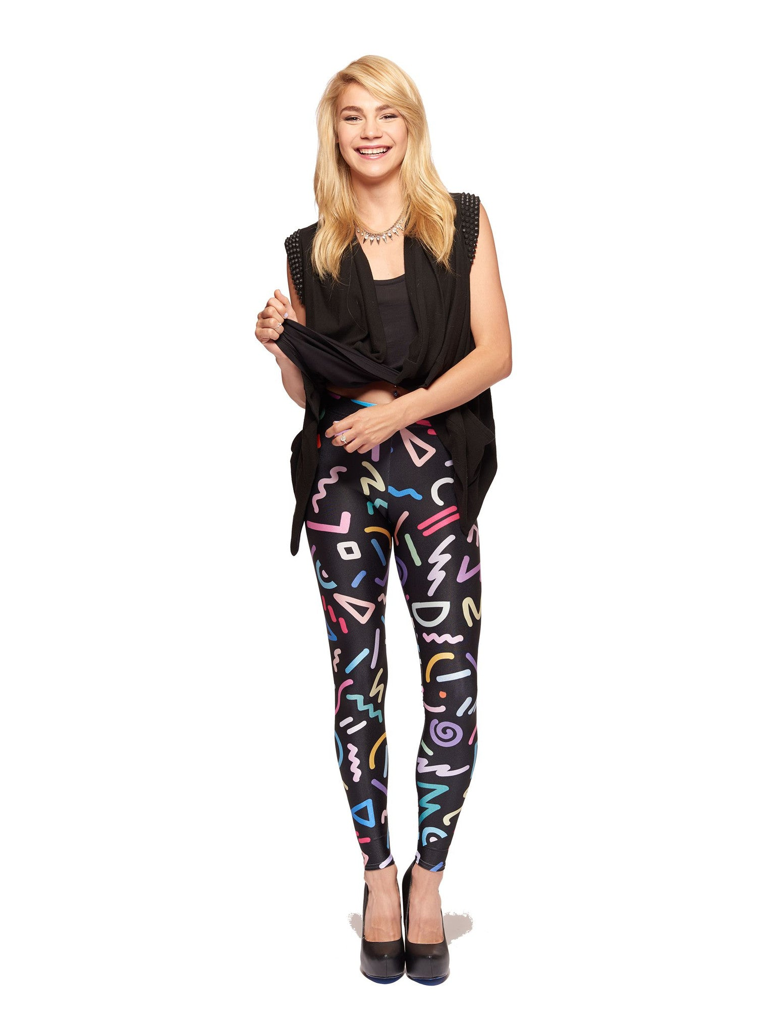 Neon Queen West Leggings - Nuvango  - 1