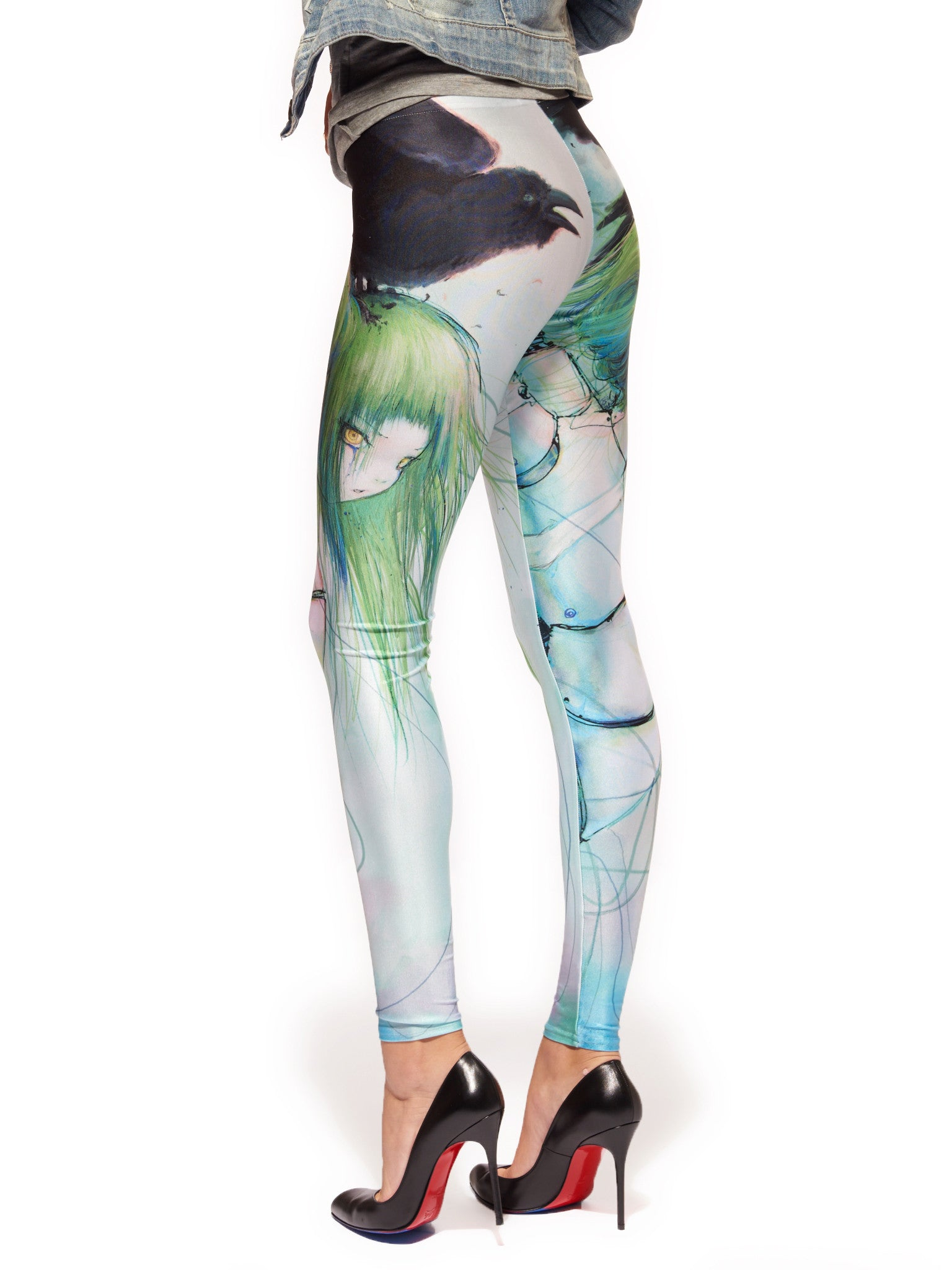 Disassembled Tears Queen West Leggings - Nuvango  - 4