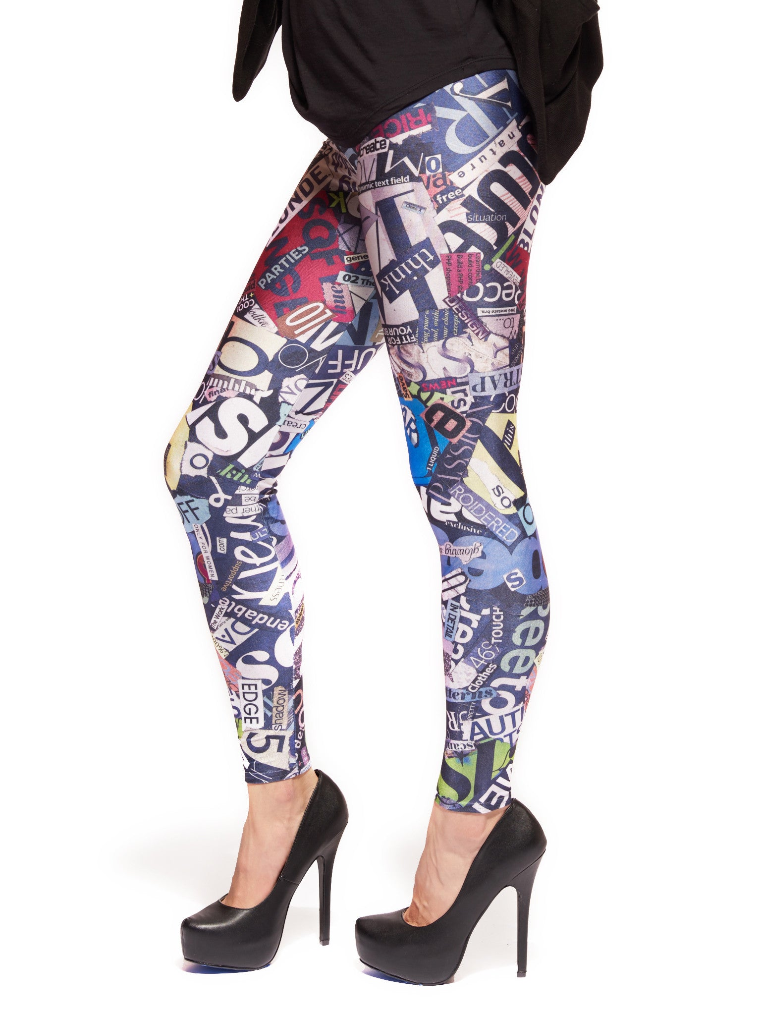 Love Letters Queen West Leggings - Nuvango  - 2