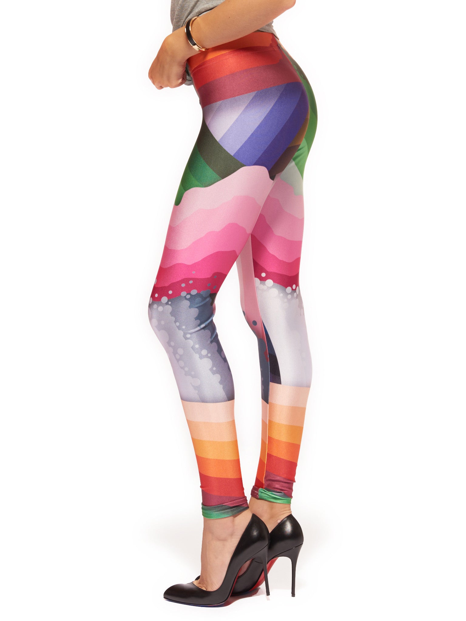 Brain Scrambler Queen West Leggings - Nuvango  - 4