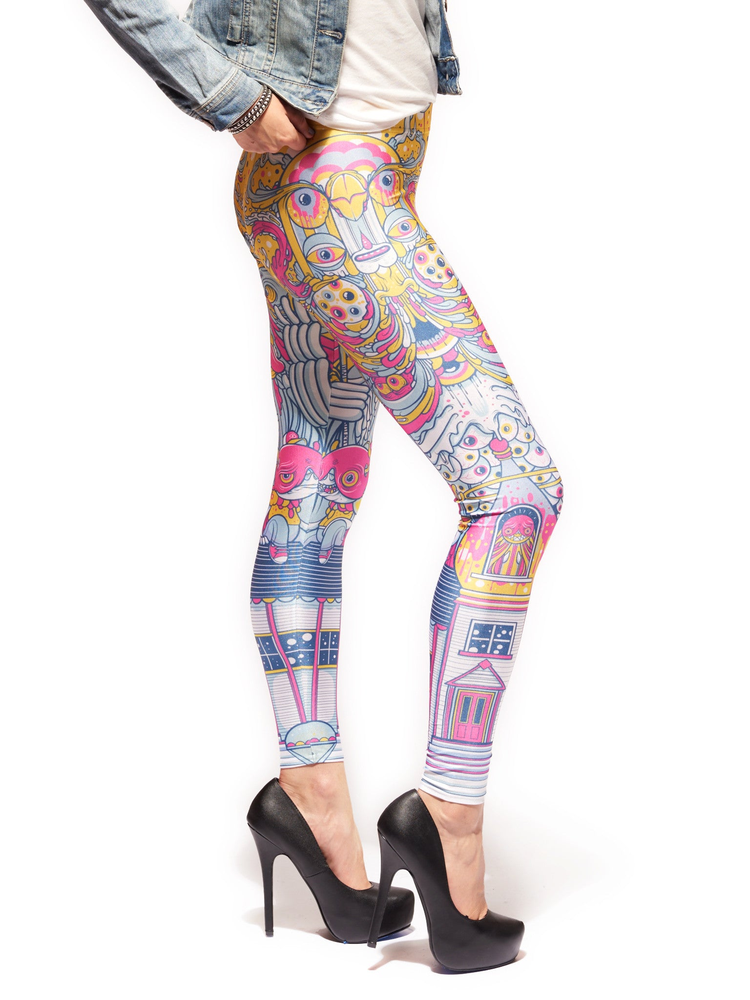 Fun House Queen West Leggings - Nuvango  - 2