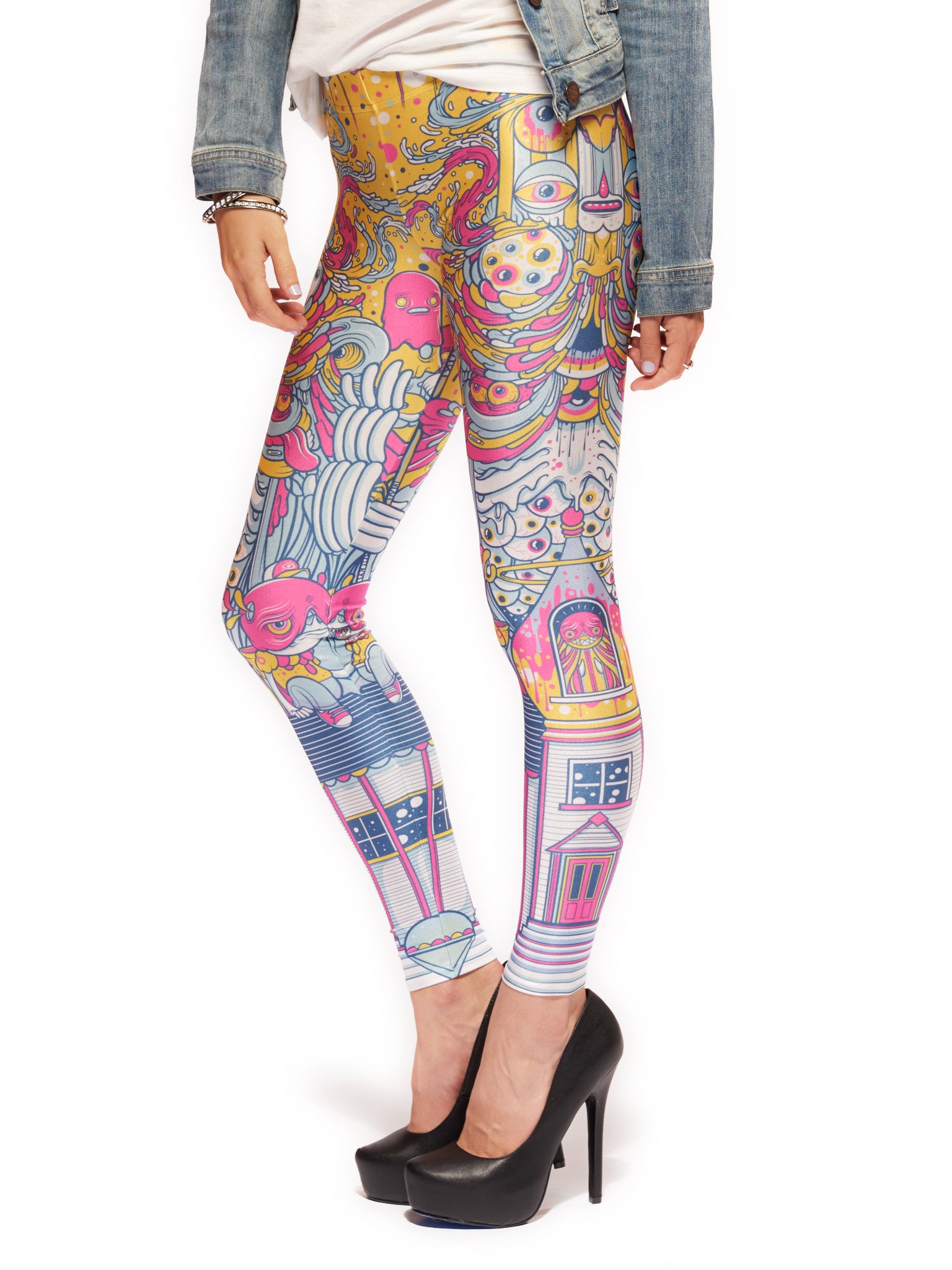 Fun House Queen West Leggings - Nuvango  - 4