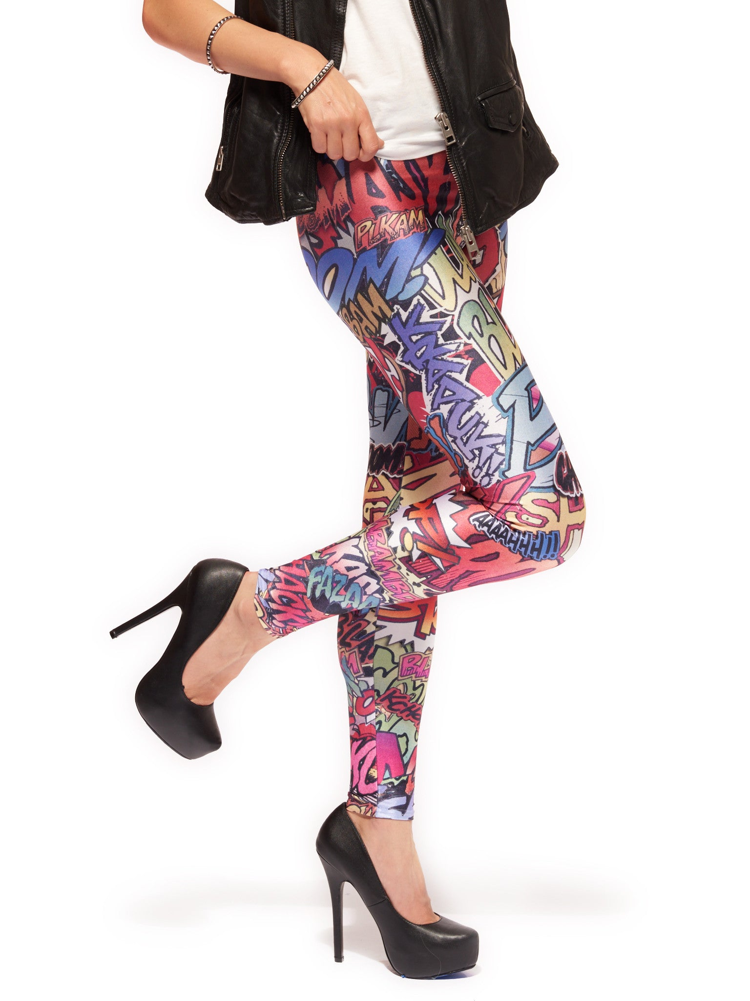 Action Packed Queen West Leggings - Nuvango  - 2