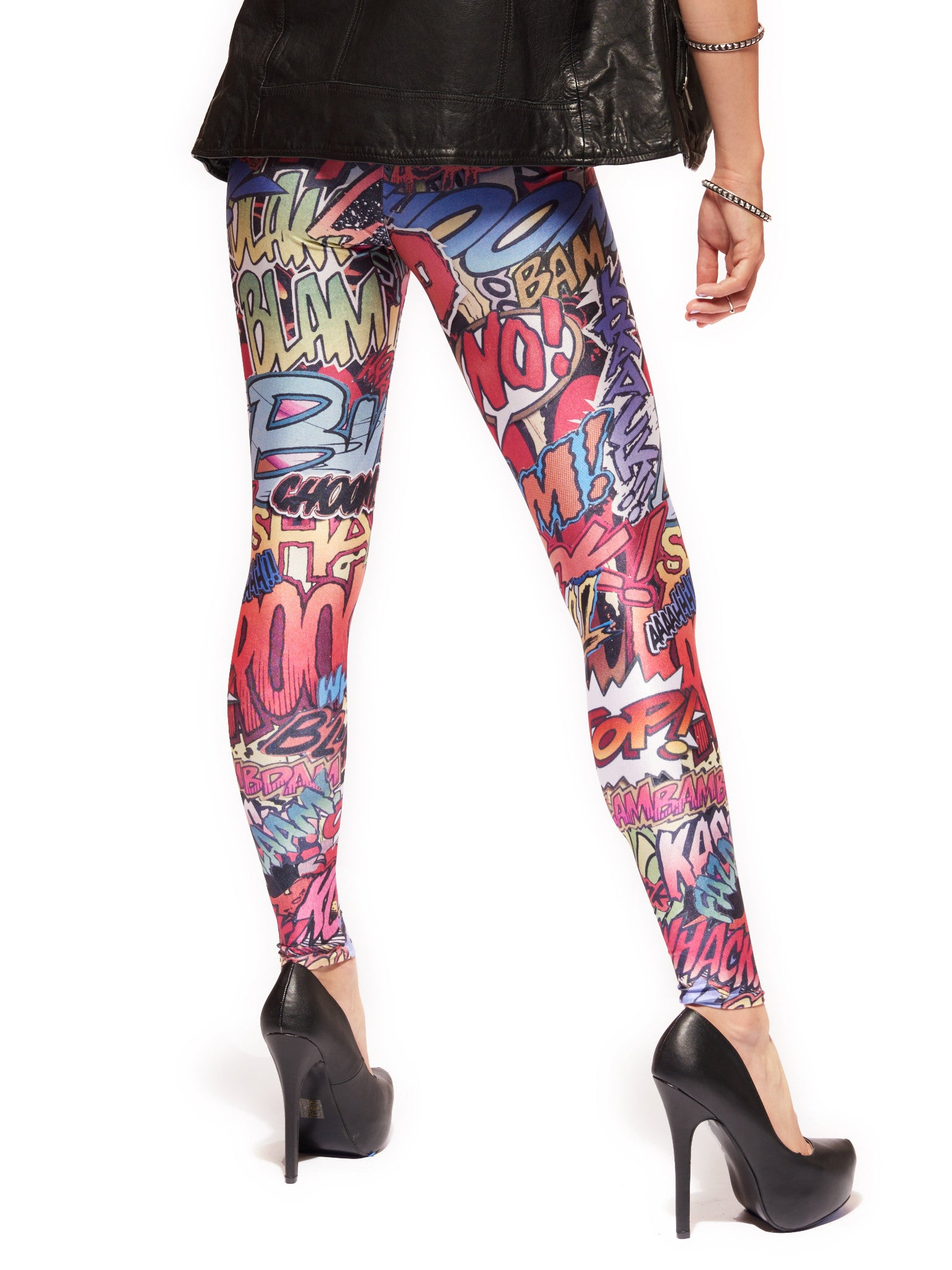 Action Packed Queen West Leggings - Nuvango  - 3