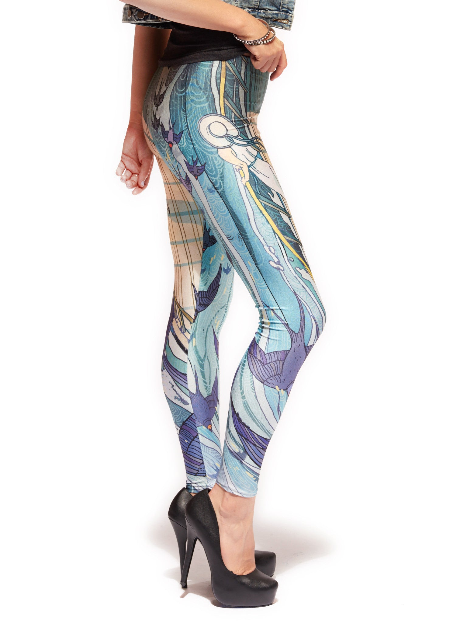 Cassarole Queen West Leggings - Nuvango  - 2