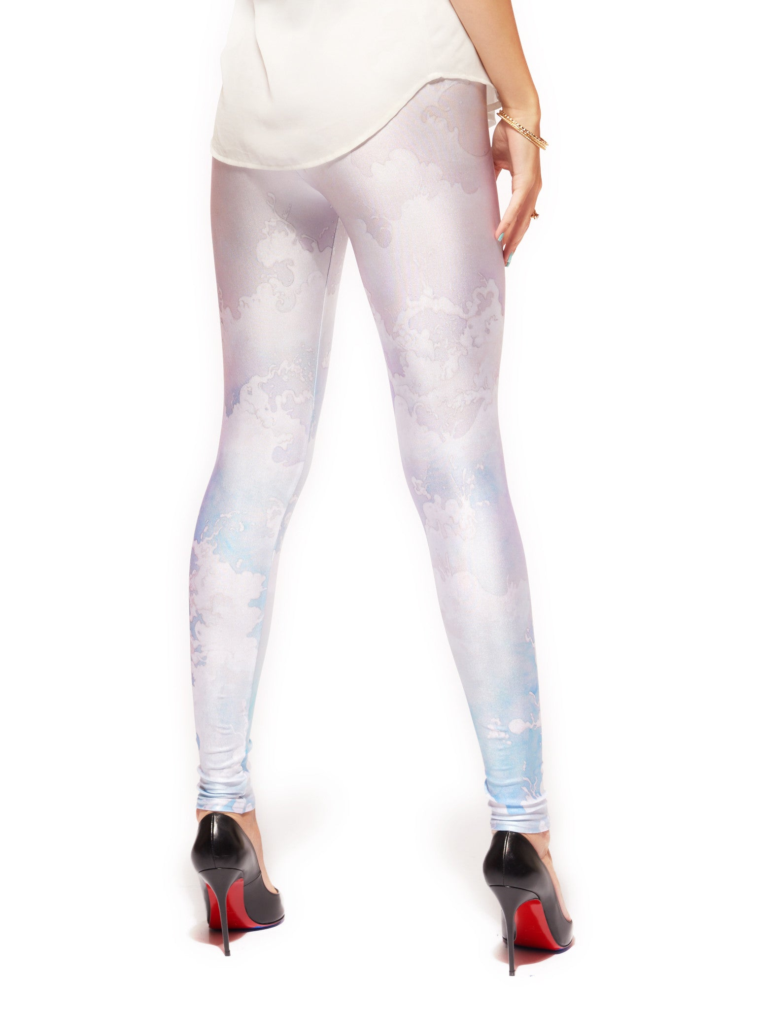 Tossed Queen West Leggings - Nuvango  - 3