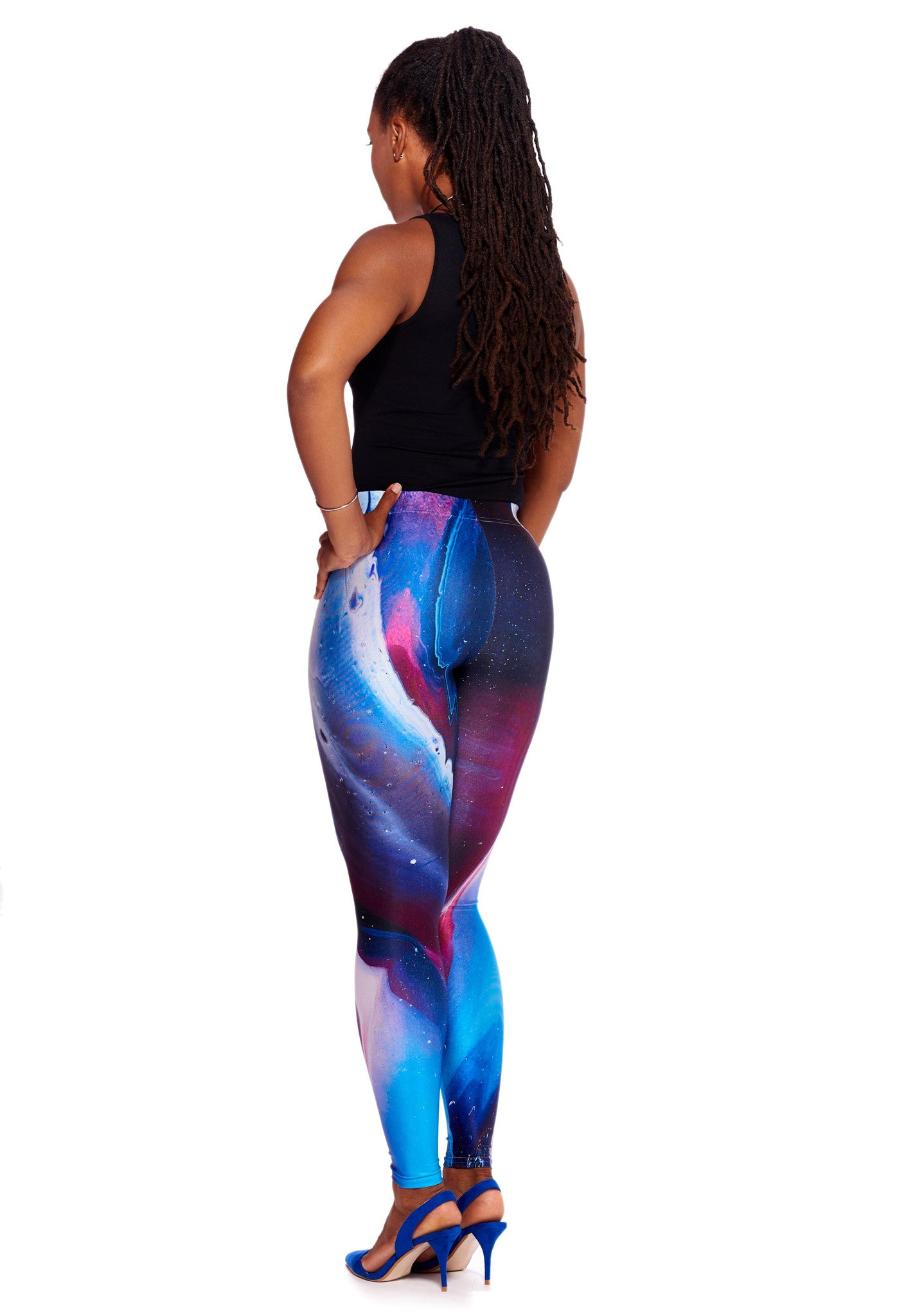 Purple Skys Leggings