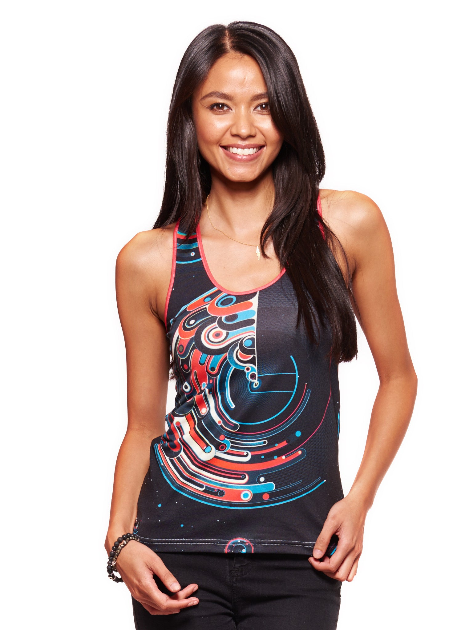 Cosmic Lighthouse Women's Trinity Tank - Nuvango  - 1