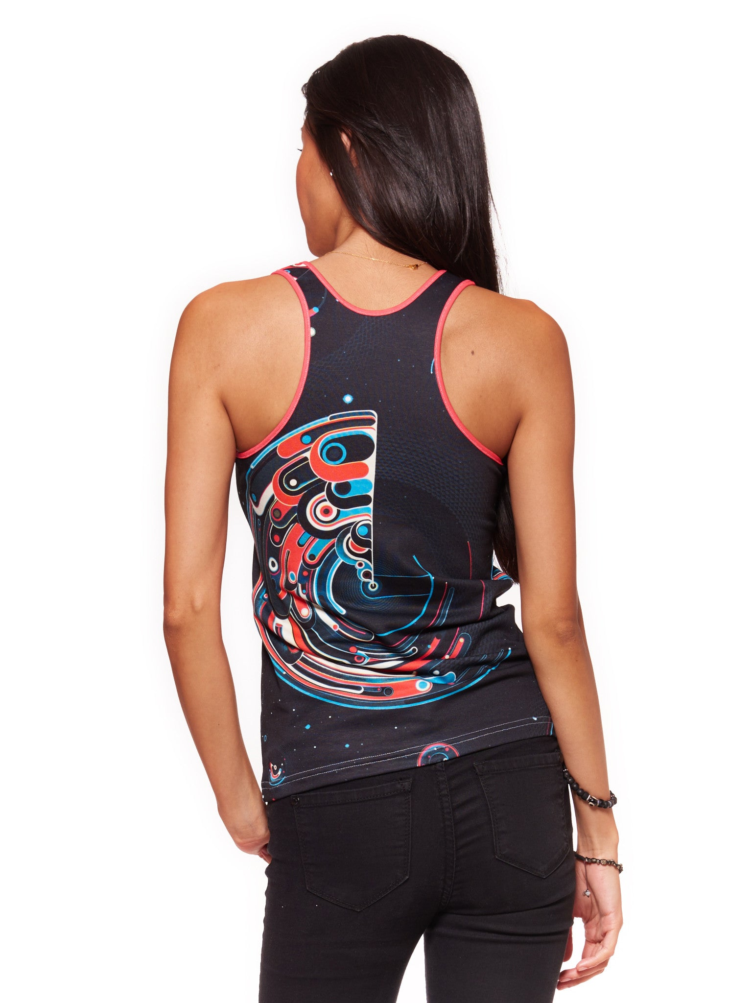 Cosmic Lighthouse Women's Trinity Tank - Nuvango  - 2