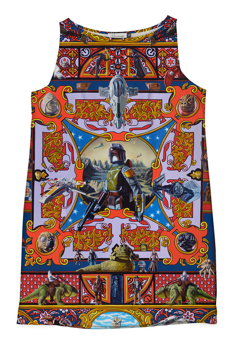 20th Century Space Opera (FULL) Shift Dress