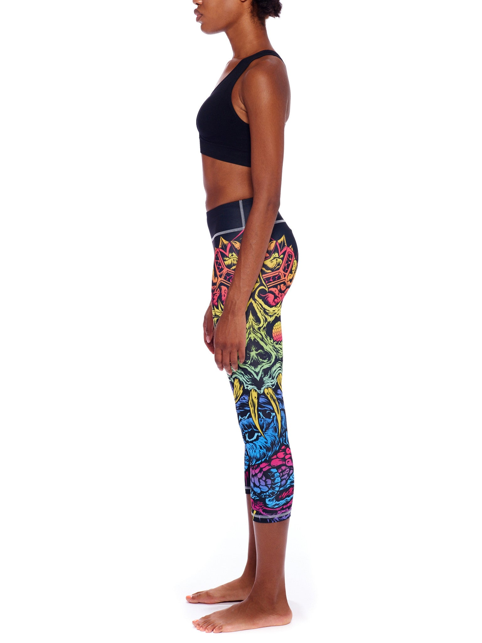 Hires Activewear Crop Leggings