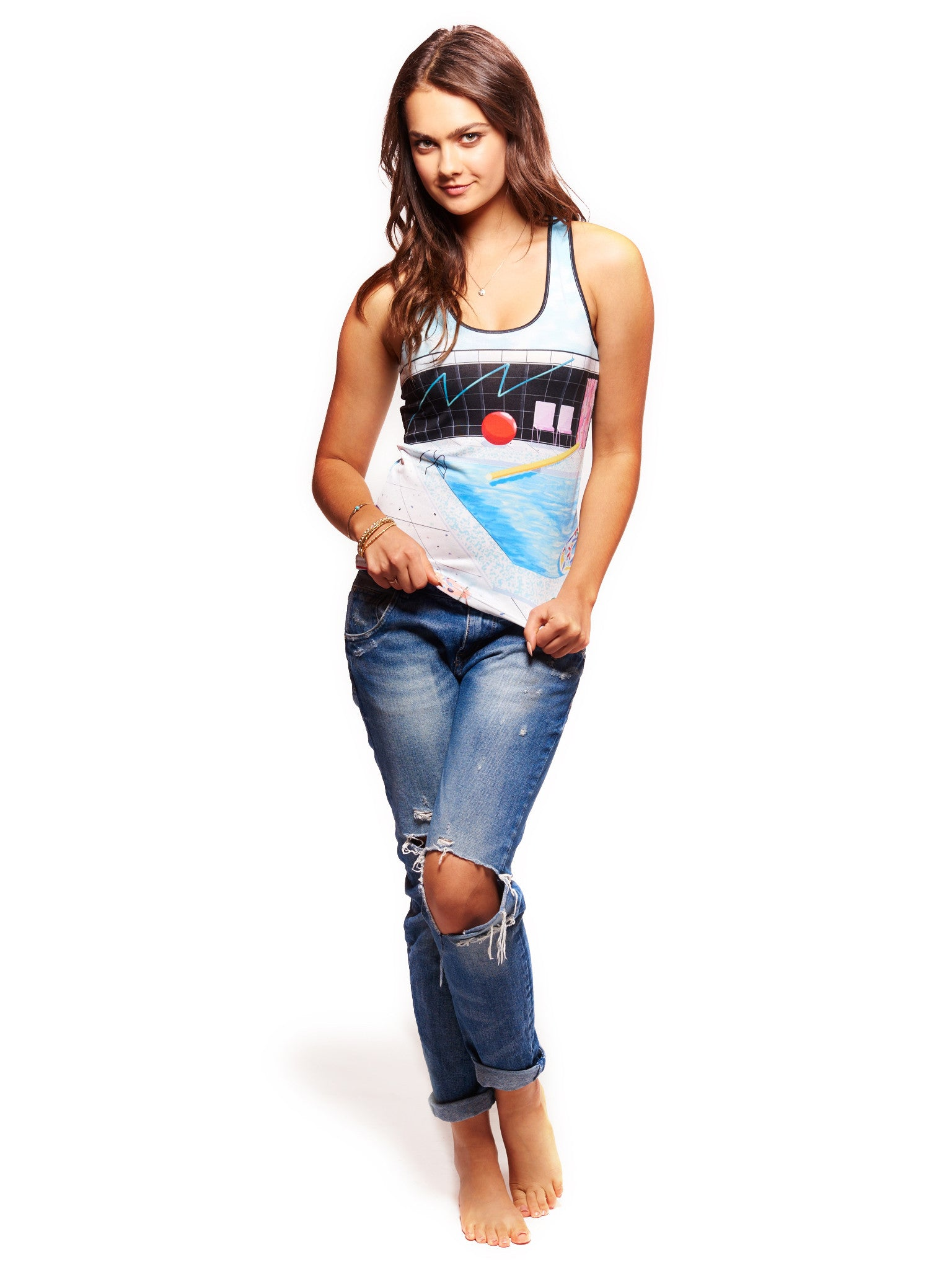Summer of Love Women's Trinity Tank - Nuvango  - 3