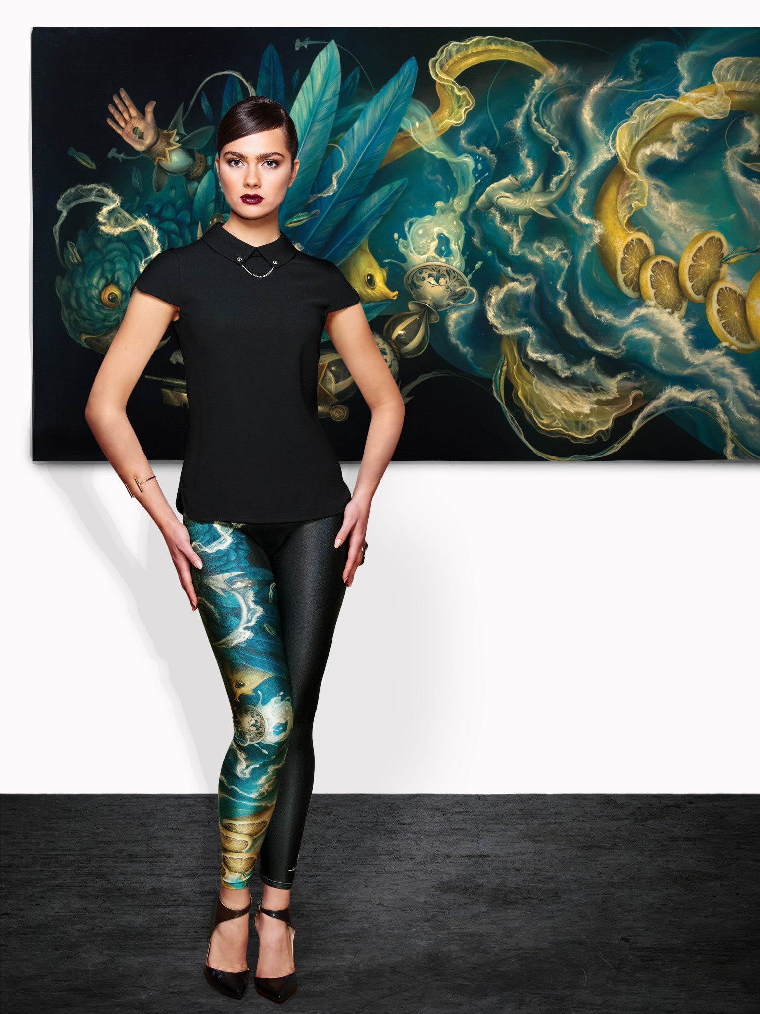 The Messenger Queen West Leggings CRAOLA LTD SERIES - Nuvango  - 5