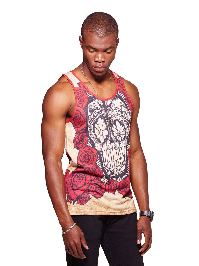 Mex Men's Echo Beach Tank