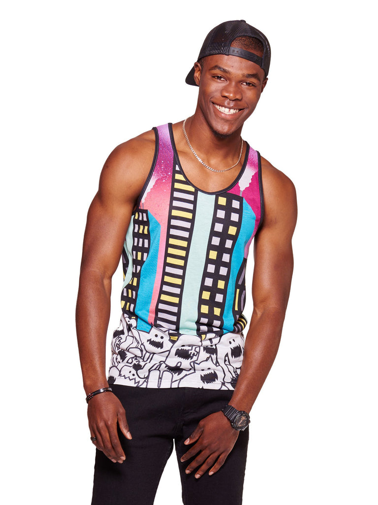 City Nights Men's Echo Beach Tank