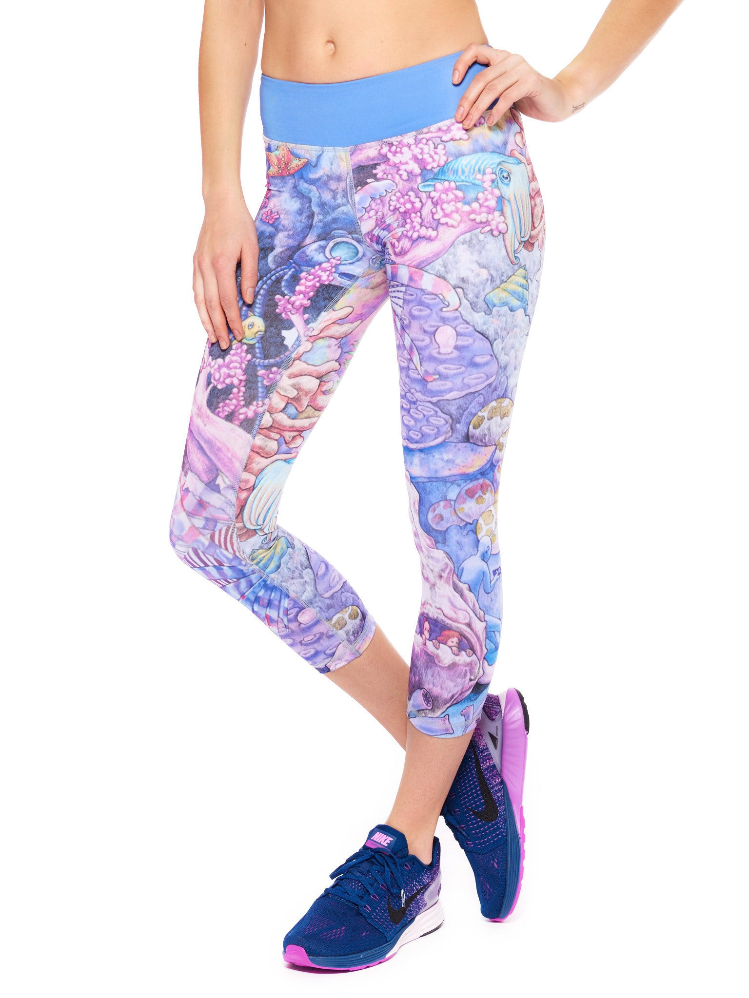 Underwonderland Activewear Crop Leggings
