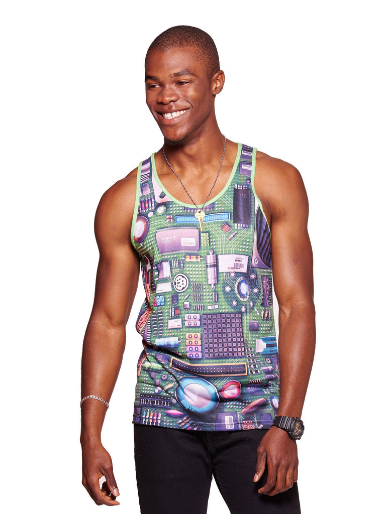 Motherboard Men's Echo Beach Tank