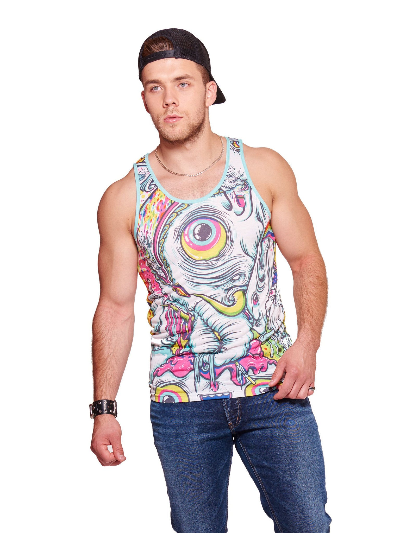 Never Forget Men's Echo Beach Tank