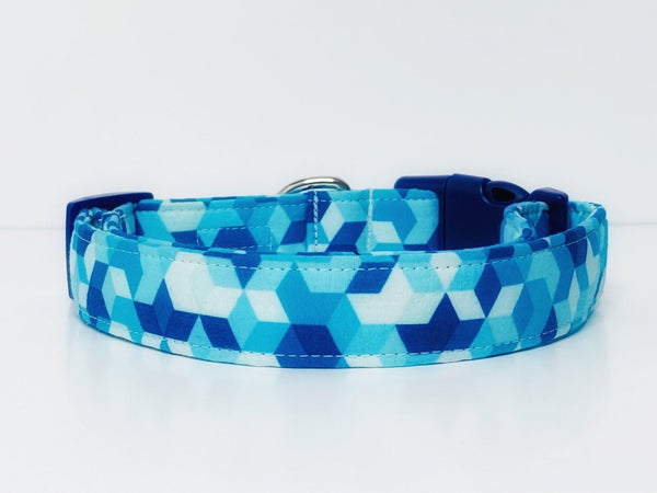 """The Wassily"" Geometric Abstract Dog Collar"