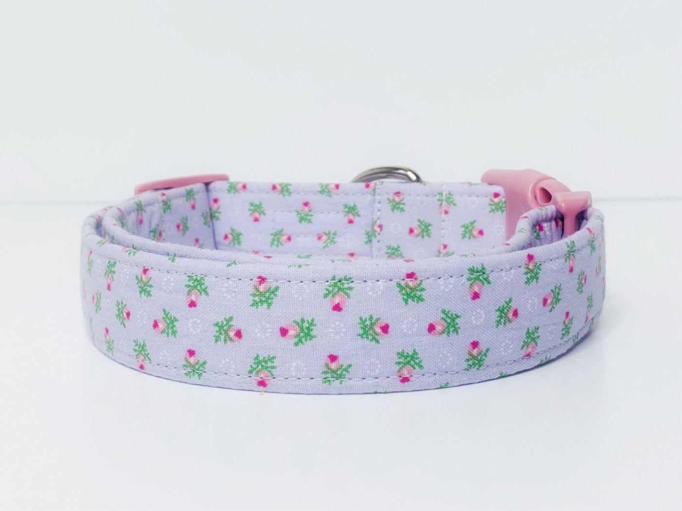 Lavender Floral Dog Collar | The Rachel Collar