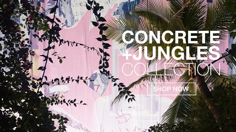 Graffinis Concrete & Jungles Swimwear Collection
