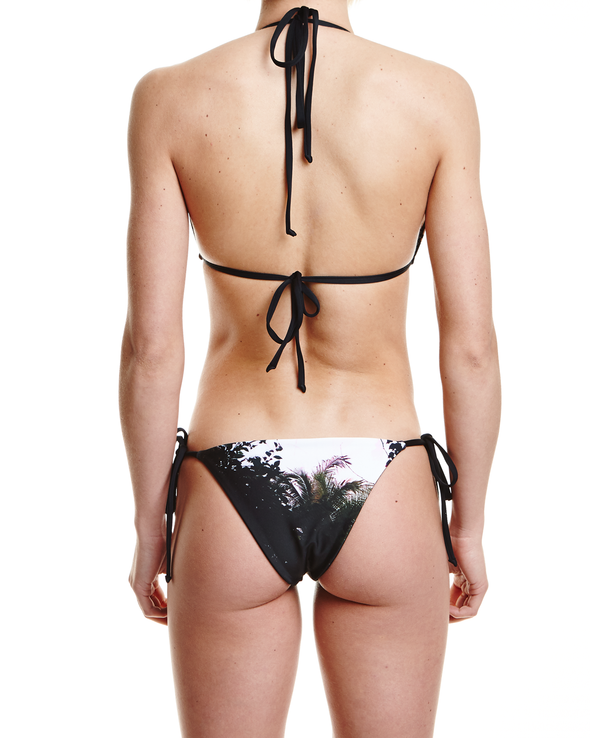 Concrete Jungles Brazilian Bikini Bottom - Graffinis Swimwear