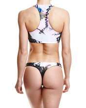 Load image into Gallery viewer, Concrete Jungles Thong Bikini Bottom - Graffinis Swimwear