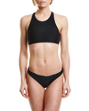 Concrete Jungles Crop Top - Graffinis Swimwear