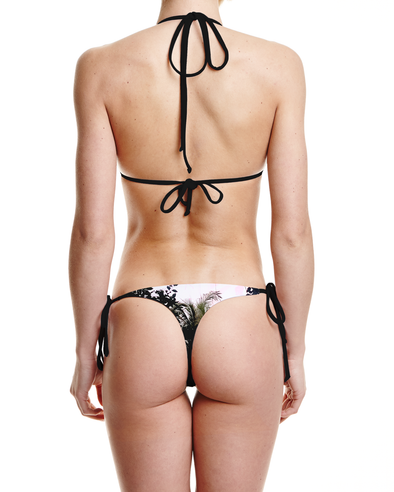 Concrete Jungles Tie Side Thong Bottom