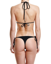 Load image into Gallery viewer, Concrete Jungles Tie Side Thong Bottom - Graffinis Swimwear