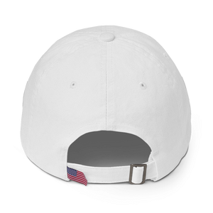 Washed White Graffinis Dad Hat - Graffinis Swimwear