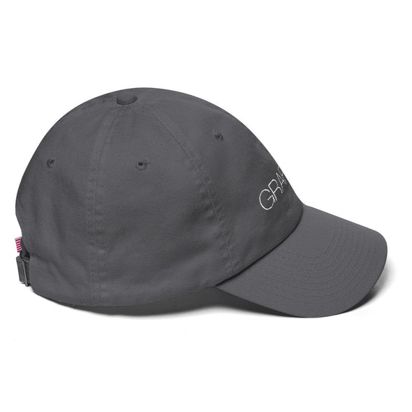 Washed Gray Graffinis Dad Hat - Graffinis Swimwear