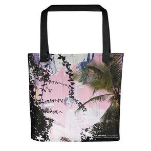 Concrete Jungles Tote Beach Bag - Graffinis Swimwear