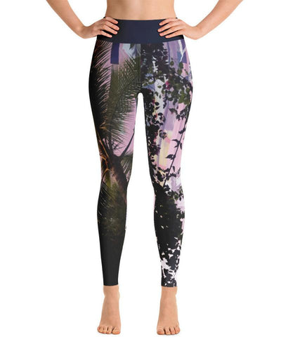 Concrete & Jungles Printed Leggings - Graffinis Swimwear