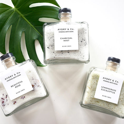 Aydry & Co. - Charcoal Mint Mineral Bath Soak