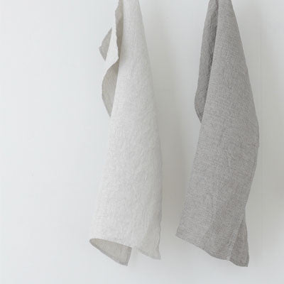 fog linen work linen washed waffle kitchen cloth - Fresh Laundry Co. - 1