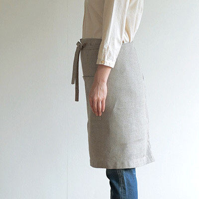 fog linen work linen midi apron - Fresh Laundry Co.