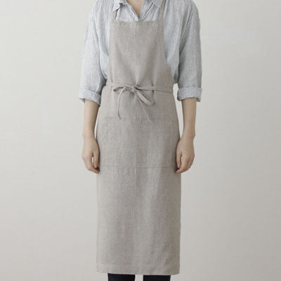 fog linen work linen full apron - Fresh Laundry Co. - 1