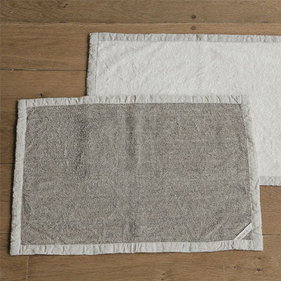 fog linen work linen massage bath mat - Fresh Laundry Co.