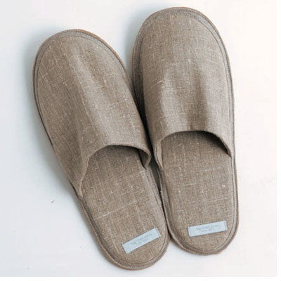 fog linen work linen slippers - Fresh Laundry Co. - 1
