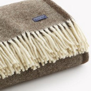 faribault woolen mill co. lodge stripe wool throw - Fresh Laundry Co.