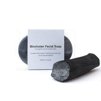 binchotan charcoal facial soap - Fresh Laundry Co.