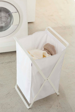 Yamazaki Home - Tower Laundry Hamper White