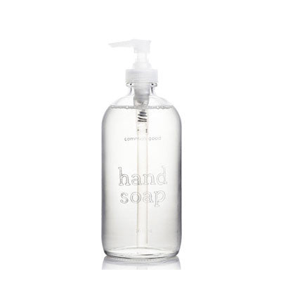 common good hand soap lavender (glass) - Fresh Laundry Co.