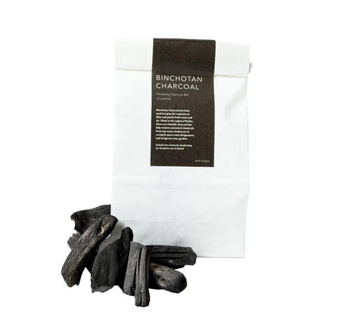 binchotan charcoal purifying bits 1/2 lb bag